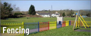 View our fencing projects in Cardiff and south Wales