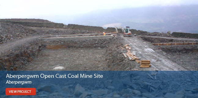 View the Aberpergwm Open Cast Coal Site project