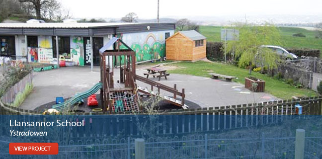 View the Llansannor School project