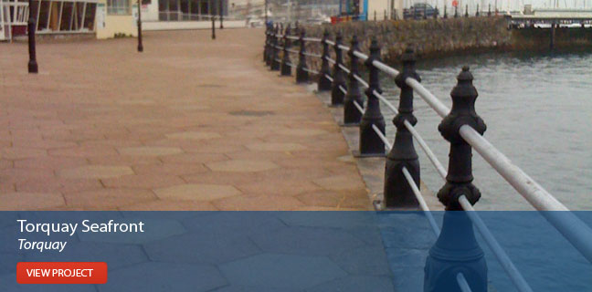 View the Torquay Seafront project